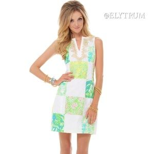 Lilly Pulitzer Janice shift dress in Lioness print
